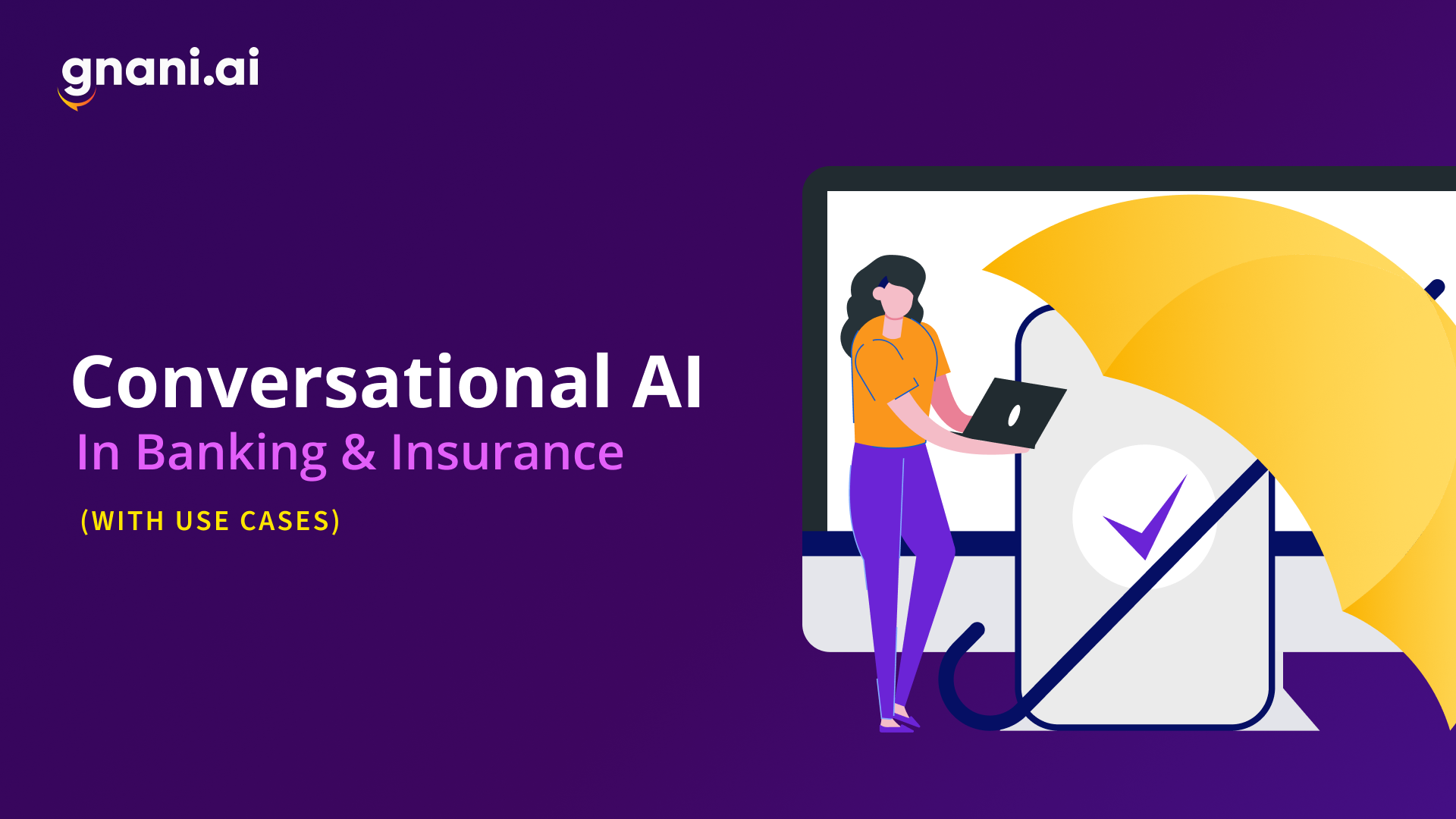 conversational ai in banking and insurance use cases featured image